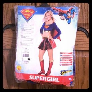 Supergirl Costume Teen Size 2-6